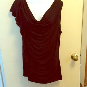 Michael Kors  XL black top NWT